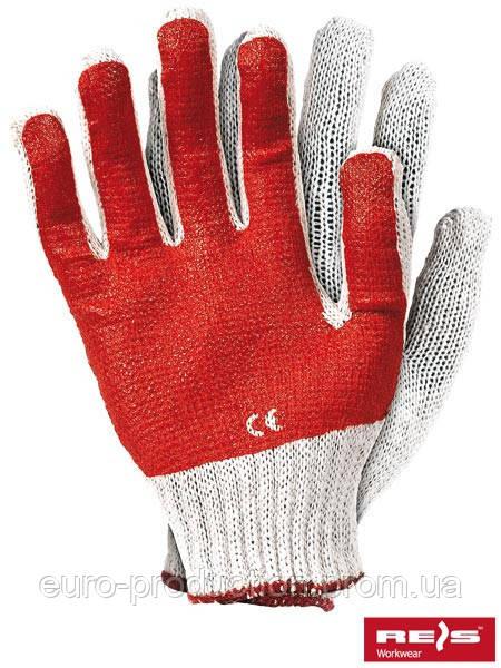 Перчатки защитные покрытые ПВХ RR WC
