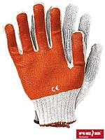 Перчатки защитные покрытые ПВХ RR WP