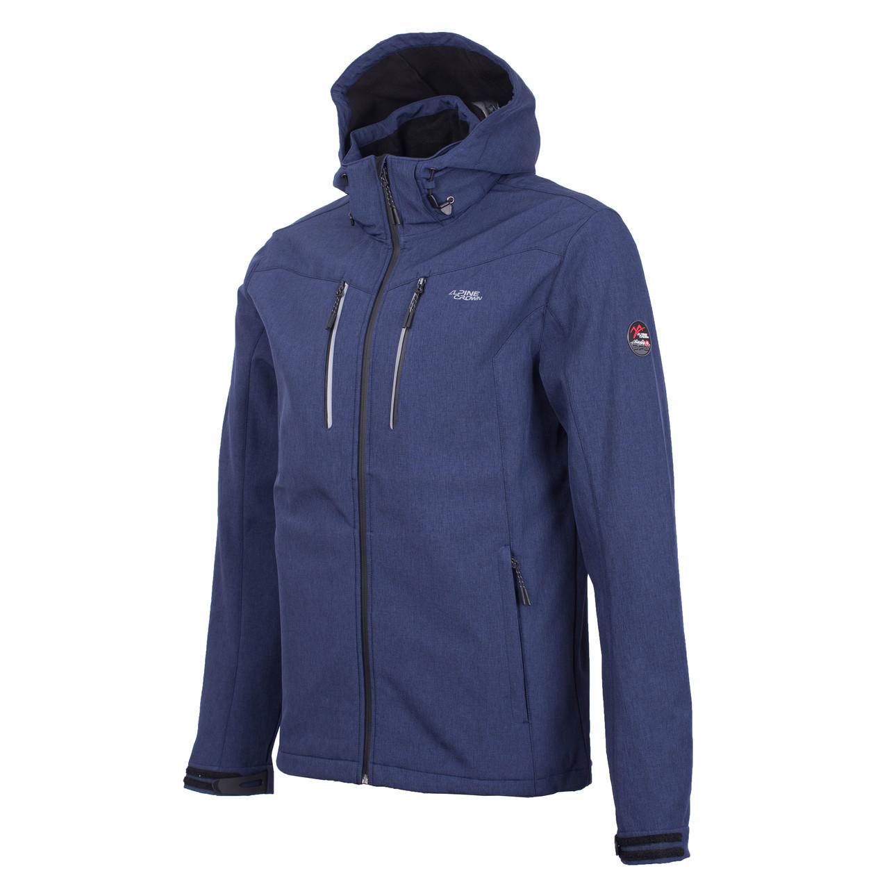 Мужская синяя ветровка Alpine Crown Softshell Rob