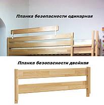 Дитяче Ліжко Аммі 80х190 Бук Щит Білий+102 (Естелла-ТМ), фото 3
