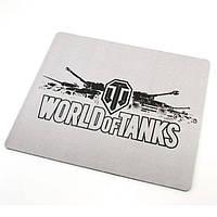 Килимок для мишки World of Tanks білий