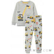 Теплый комплект (джоггеры и свитшот) H&M для мальчика
