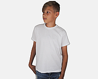 Детская Классическая Футболка для Мальчиков Белая Fruit of the loom 61-033-30 5-6, фото 1