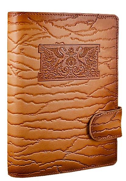 """Щоденник (портфоліо) А5 формату в шкіряній обкладинці зі змінним блоком """"Палаццио"""" (на магнітному клапані)"""
