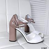 Элегантные женские туфли на каблуке, фото 4