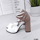 Элегантные женские туфли на каблуке, фото 7