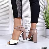 Элегантные женские туфли на каблуке, фото 2