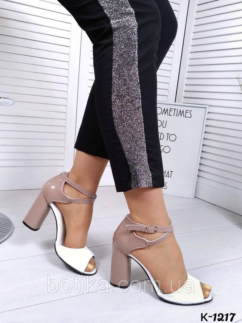 Элегантные женские туфли на каблуке