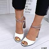 Элегантные женские туфли на каблуке, фото 3