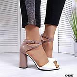 Элегантные женские туфли на каблуке, фото 6