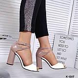 Элегантные женские туфли на каблуке, фото 5