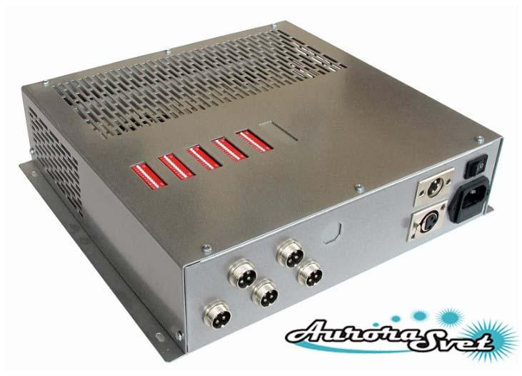 БУС-3-05-150MW блок управления светодиодными светильниками, кол-во драйверов - 5, мощность 150W.