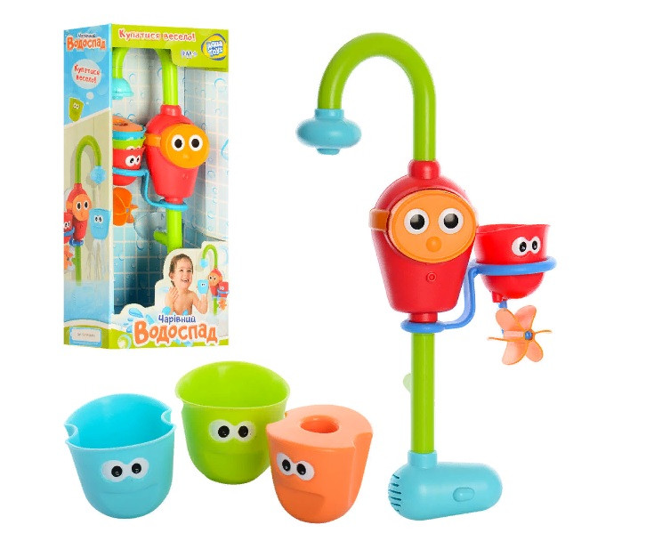 """Игровой набор водопад игрушка детская для купания """"Волшебный кран"""" D 40116"""