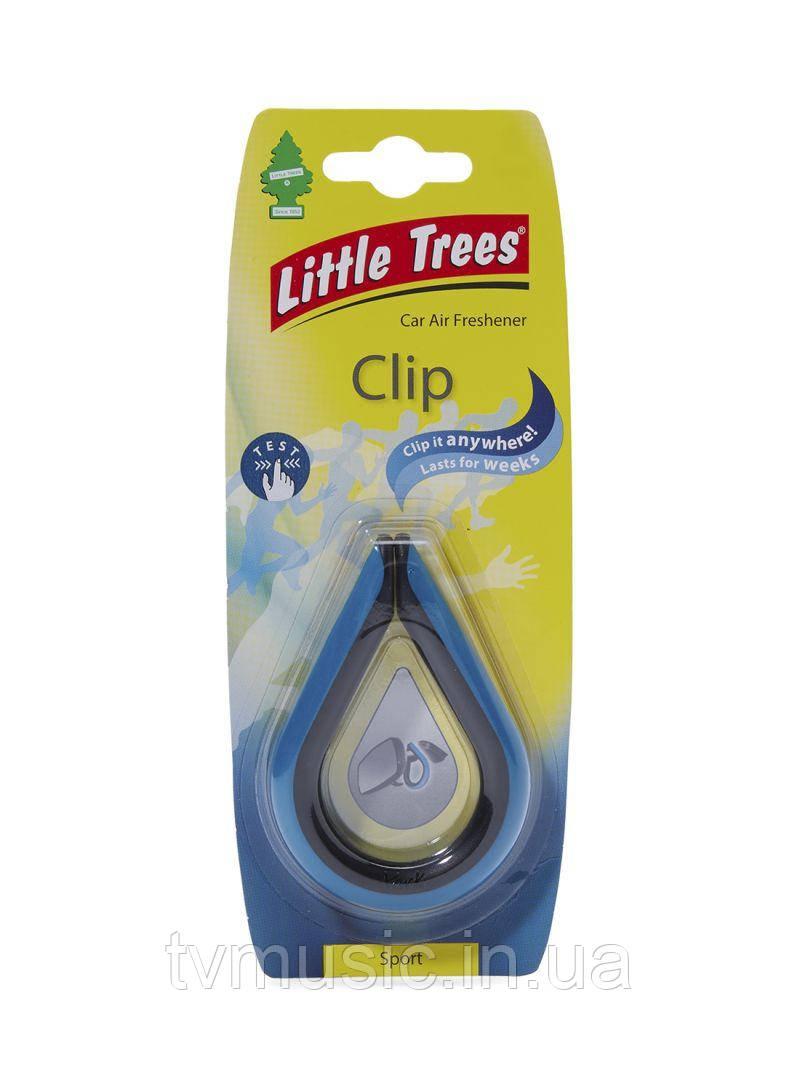 Ароматизатор в машину Little Trees Clip Sport / Спорт