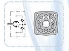 Орбитальные (героторные) гидромоторы Hydrо-pack MTS 315, фото 3
