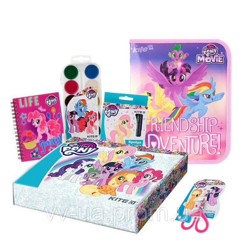 Набор канцтоваров в коробке Kite My Little Pony маленький (111101)