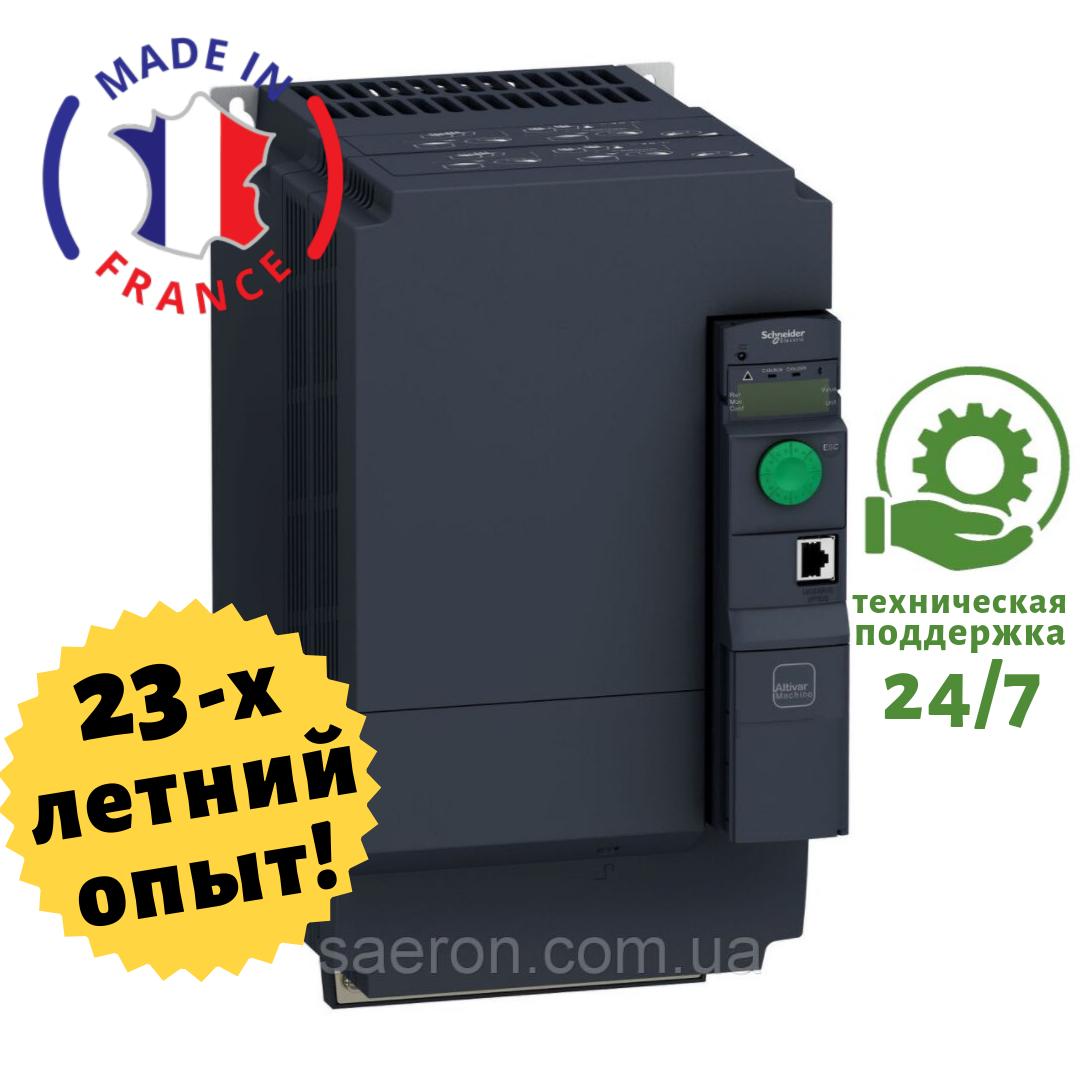 Перетворювач частоти на 11 кВт SCHNEIDER - ATV320D11N4B - Вхідна напруга: 3-ф 380V