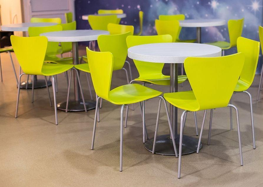 Комплект для кафе 4 стула Левис Лайм