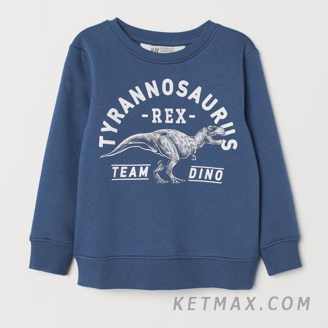 Утепленный свитшот H&M для мальчика