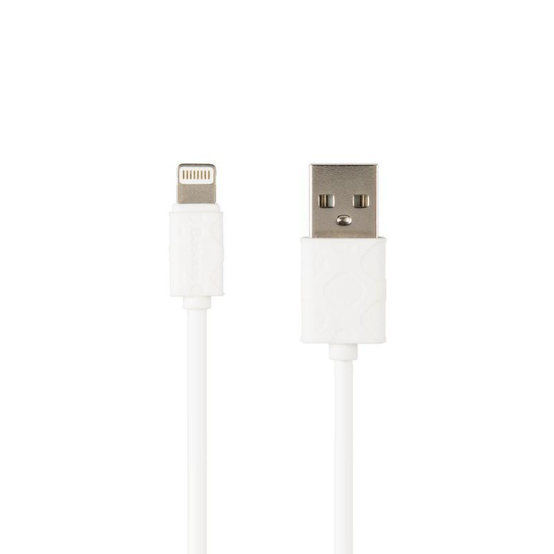 Кабель USB Baseus Yaven iPhone 8 White 1m