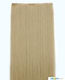 Накладные волосы  на клипсах, трессы 60 см цвет блонд 5006/16, фото 2
