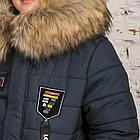Модная курточка-пальто для мальчиков - сезон зима 2019 - (модель КТ-526), фото 2