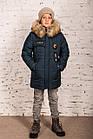 Модная курточка-пальто для мальчиков - сезон зима 2019 - (модель КТ-526), фото 3