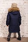 Модная курточка-пальто для мальчиков - сезон зима 2019 - (модель КТ-526), фото 7