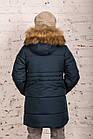 Модная курточка-пальто для мальчиков - сезон зима 2019 - (модель КТ-526), фото 5