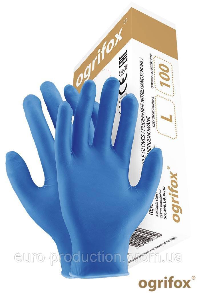 Перчатки нитриловые OGRIFOX OX-NIT-PF N
