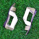 Босоножки римлянки женские кожаные, цвет визон/бежевая кожа, фото 5
