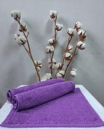 Махровая салфетка 30х30 Nostra (Без Бордюра) Фиолетовая, фото 2