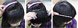 Накладная челка цвет чёрный  3318№1, фото 3