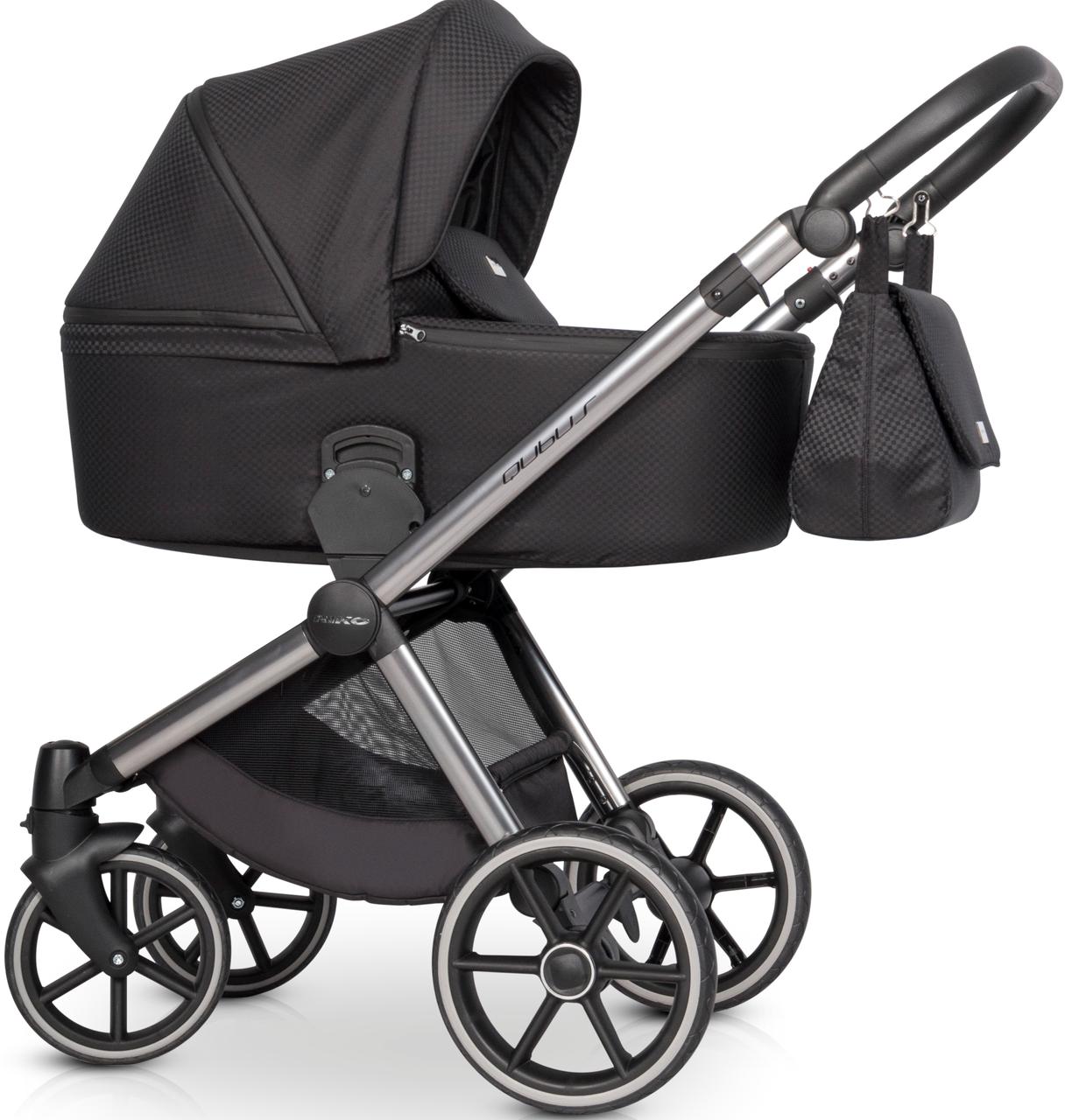 Детская универсальная коляска 2 в 1 Riko Qubus 03 Carbon
