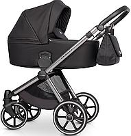 Детская универсальная коляска 2 в 1 Riko Qubus 03 Carbon, фото 1