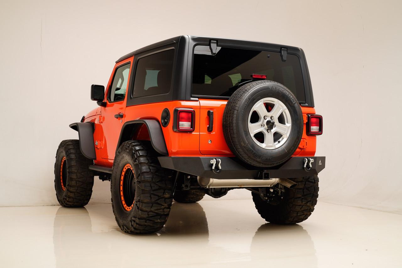 Силовой задний бампер Jeep Wrangler JL