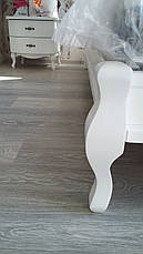 Кровать Ариэль 1,2 м. (изголовье - Н 820) (цвет белый), фото 2