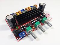 Плата звукового усилителя XH-HM139 TPA3116D2 2,1 2*50 Вт, 100 Вт DC12V-24V