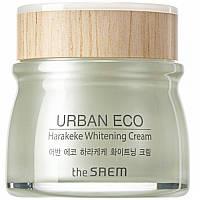 Крем осветляющий с экстрактом новозеландского льна The Saem Urban Eco Harakeke Whitening Cream 60 мл