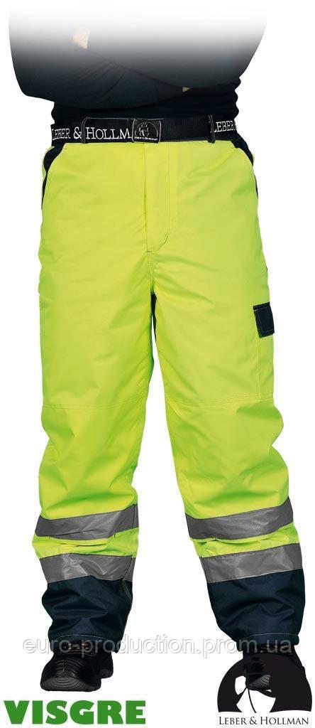 Утепленные защитные брюки до пояса LH-VIBETRO YG