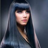 Накладные ровные волосы  7 прядей на клипсах, трессы длинна 55 см 7006№8., фото 2