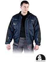 Куртка зимняя сигнальная рабочая с отстегивающимися рукавами LH-COVER GB