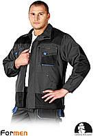 Куртка FORMEN рабочая Leber&Hollman Польша (одежда рабочая) LH-FMN-J SBN, фото 1