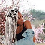 Разноцветные  каникалоны , африканские французские косички 100 грамм , фото 4