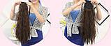 Шиньон Хвост волнистые 60 см. 168№1В, фото 3
