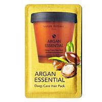 Nature Republic Маска для волос с Аргановым маслом Пробник Argan Essential Deep Care Hair Pack 8 ml