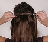 Ровные трессы, накладные волосы 60 см мелирование 5006/№12/613, фото 4