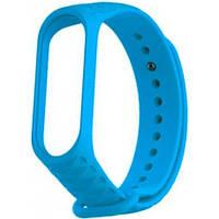Ремешок Rhomb Design для фитнес-браслета Xiaomi Mi Band 3/4 Blue