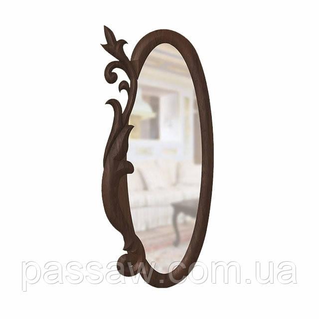 Зеркало  Скиф Д-1 из натурального дерева
