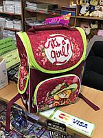Школьный ортопедический  рюкзак  Smile для девочки
